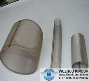 Stainless filter tube