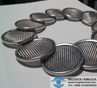 Stainless mesh discs