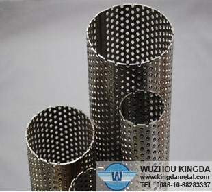 Stainless perforated tube