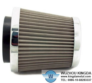 Stainless steel cone filter