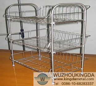 Charming Stainless Steel Kitchen Racks