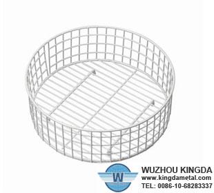 Stainless Steel Round Drainer Basket Stainless Steel Round