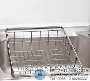 Stainless Steel Sink Dish Drying Rack,Stainless Steel Sink Dish Drying Rack  Manufacturer Wuzhou Kingda Wire Cloth Co. Ltd