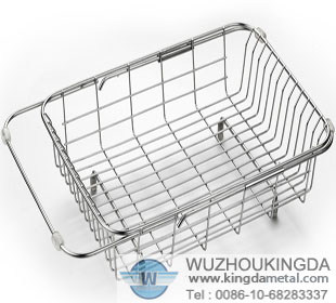Attrayant Stainless Steel Sink Dish Drying Rack