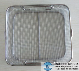 Stainless Sterilization Baskets For Autoclave Stainless
