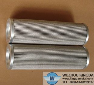 Stainless wire mesh filter elements