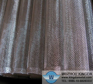 Stainless woven filter tube