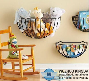 Wall Hanging Wire Baskets wall hang wire basket,wall hang wire basket supplier-wuzhou kingda