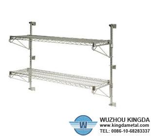wall mounted wire shelves wall mounted wire shelves. Black Bedroom Furniture Sets. Home Design Ideas