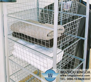 wire basket storage shelves wire basket storage shelves. Black Bedroom Furniture Sets. Home Design Ideas
