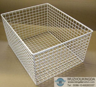 Charmant Wire Mesh Basket For Storage