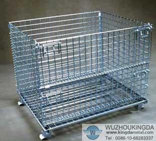 Wire Mesh Container Wire Mesh Storage Basket Wuzhou Kingda