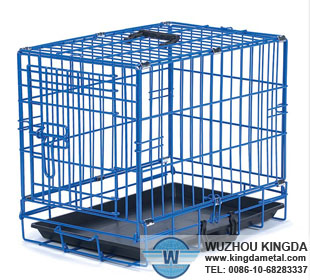 Wire mesh pet cage