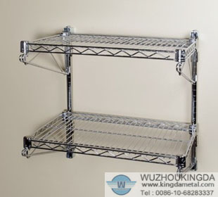 Wire Mesh Wall Mount Kitchen Rack